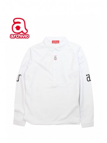 【archivio】A119918 ポロシャツ(WOMEN)【ホワイト】