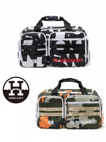 <img class='new_mark_img1' src='https://img.shop-pro.jp/img/new/icons13.gif' style='border:none;display:inline;margin:0px;padding:0px;width:auto;' />【HORN GARMENT】Vision Boston Bag【全2色】