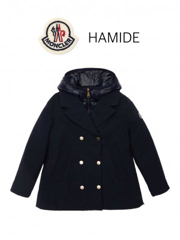 <img class='new_mark_img1' src='https://img.shop-pro.jp/img/new/icons13.gif' style='border:none;display:inline;margin:0px;padding:0px;width:auto;' />【MONCLER】HAMIDE コート(KIDS)【NAVY】