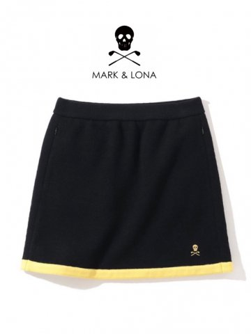 <img class='new_mark_img1' src='https://img.shop-pro.jp/img/new/icons13.gif' style='border:none;display:inline;margin:0px;padding:0px;width:auto;' />【MARK&LONA】Frontline Compression Wool Skirt(WOMEN)【BLACK】
