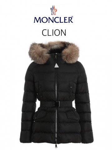 <img class='new_mark_img1' src='https://img.shop-pro.jp/img/new/icons13.gif' style='border:none;display:inline;margin:0px;padding:0px;width:auto;' />【MONCLER】CLION ダウンジャケット(WOMEN)【BLACK】