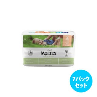 <img class='new_mark_img1' src='https://img.shop-pro.jp/img/new/icons5.gif' style='border:none;display:inline;margin:0px;padding:0px;width:auto;' />Moltex Nature No. 1 紙おむつ <7パックセット>