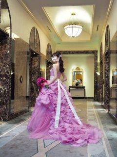 【Used 51%OFF】 Vera Wang Hayley Pink (ヴェラウォン ピンクヘイリー) US4→US2相当お直し ※プレス代5万円込み