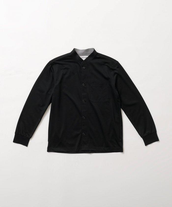 マオカラーストライプシャツ 【MEN】