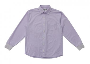 ストライプ ニットシャツ 【MEN】