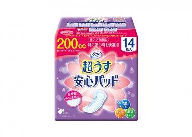 吸水パッド リフレ安心パッド (200cc) 【女性用】