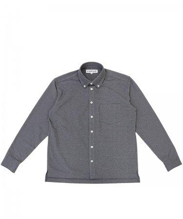 鹿の子ニットシャツ '21 【MEN】