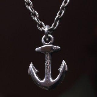 M&W works<BR>anchor charm<BR>silver925