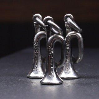 M&W works<BR>trumpet charm<BR>silver925