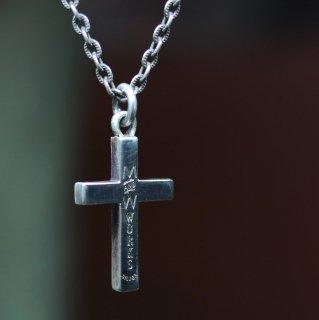 M&W works<BR>cross charm<BR>silver925
