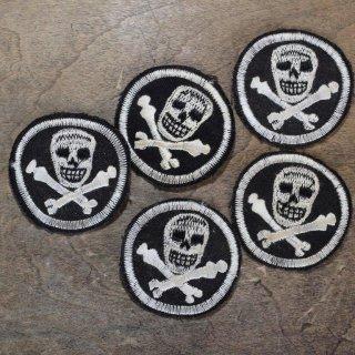Vintage skull patch