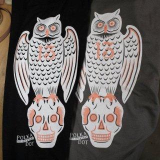 owl & skull Tshirt