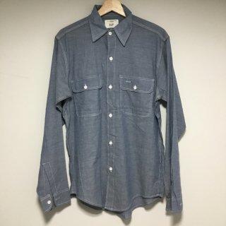 デッドストック 70s  BIG MAC シャンブレーワークシャツ