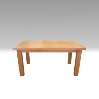 国産ダイニングテーブル TDテーブル TD-150×90 イエローポプラ材 NO.1 たかやま 国産無垢テーブル【展示在庫品】