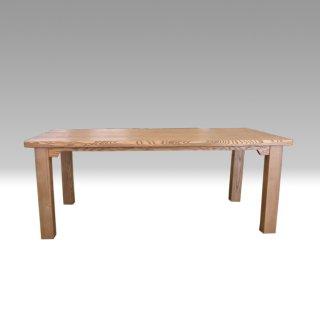 国産ダイニングテーブル TDテーブル TD-180×90 タモ材 NO.1 たかやま 国産無垢テーブル【展示在庫品】