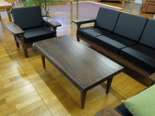 クス 楠 一枚板 120センターテーブル  国産高級伝統工芸 ロクロ家具【開梱・設置・組み立て無料】