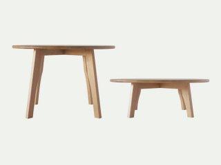 国産テーブル manuf 105R 丸テーブル 無垢材 オーダーテーブル【設置・組み立て無料】