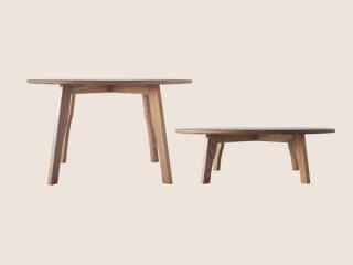 国産テーブル manuf 120R 丸テーブル 無垢材 オーダーテーブル【設置・組み立て無料】