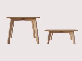 国産テーブル manuf 85K 角テーブル 無垢材 オーダーテーブル【設置・組み立て無料】