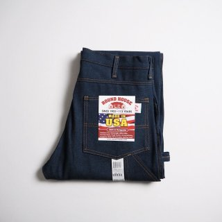 ROUND HOUSE ラウンドハウス デニムペインターパンツ #101 MADE IN USA CLASSIC 5 POCKET CARPENTER DUNGAREE JEAN / RIGID