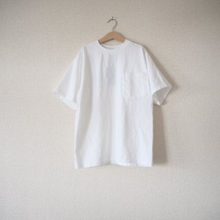 【WINTER SALE 50%OFF】GOODWEAR グッドウェア ポケット付きクルーネックTシャツ/WHITE<img class='new_mark_img2' src='https://img.shop-pro.jp/img/new/icons22.gif' style='border:none;display:inline;margin:0px;padding:0px;width:auto;' />