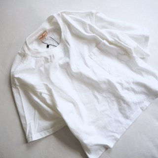【WINTER SALE 50%OFF】GOODWEAR グッドウェア ポケット付きクルーネッククロップド 半袖 Tシャツ/WHITE<img class='new_mark_img2' src='https://img.shop-pro.jp/img/new/icons22.gif' style='border:none;display:inline;margin:0px;padding:0px;width:auto;' />