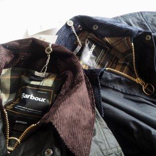 Barbour バブアー オイルドジャケット CLASSIC BORDER/2カラー