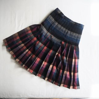 【WINTER SALE 50%OFF】PENDLETON ペンドルトン REVERSIBLE PLEATED SKIRT リバーシブルプリーツスカート/MULTI PLAID(BLUE/RED)<img class='new_mark_img2' src='https://img.shop-pro.jp/img/new/icons22.gif' style='border:none;display:inline;margin:0px;padding:0px;width:auto;' />