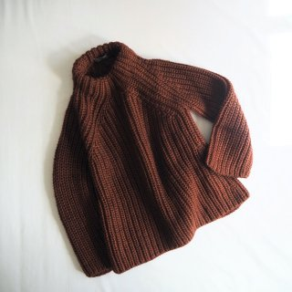 【WINTER SALE 50%OFF】Croche' クロシェ ボトルネック ローゲージニット B5431 / MARRONE<img class='new_mark_img2' src='https://img.shop-pro.jp/img/new/icons22.gif' style='border:none;display:inline;margin:0px;padding:0px;width:auto;' />