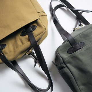 FILSON フィルソン トートバッグ RUGGED TWILL TOTE BAG WITH ZIPPER/2カラー