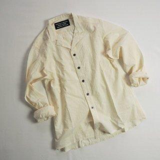 Production et Fabrication  オープンカラーシャツ SHIRT OPEN COLLAR / BRUT