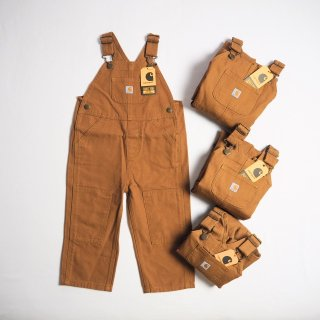 CARHARTT KIDS カーハート キッズ オーバーオール #CM8609 CANVAS BIB OVERALL /  BROWN<img class='new_mark_img2' src='https://img.shop-pro.jp/img/new/icons59.gif' style='border:none;display:inline;margin:0px;padding:0px;width:auto;' />