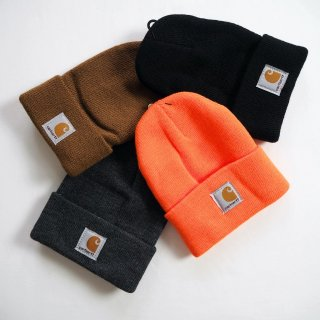 CARHARTT KIDS カーハート キッズ ウォッチハット ニットキャップ #CB 8905 WATCHHAT TODDLER SIZE( 幼児サイズ 2歳から5歳頃 ) / 4カラー<img class='new_mark_img2' src='https://img.shop-pro.jp/img/new/icons59.gif' style='border:none;display:inline;margin:0px;padding:0px;width:auto;' />