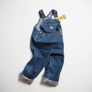 CARHARTT KIDS カーハート キッズ デニム オーバーオール #CM8665 OVERALL 幼児サイズ /  MEDIUM WASH DENIM