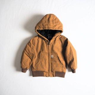 CARHARTT KIDS カーハート キッズ アウター アクティブジャケット ACTIVE JAC #CP8430 幼児サイズ /  CARHARTT BROWN