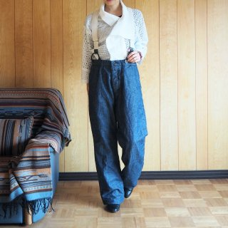 Manufactures & Co. マニュファクチャーズ・アンドコー レディース デニムワークトラウザー WORKERS TROUSERS