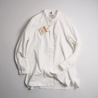 Le Sans Pareil ル サン パレイユ バンドカラーロングシャツ BBT LONG BAND COLLAR SHIRTS / WHITE<img class='new_mark_img2' src='https://img.shop-pro.jp/img/new/icons13.gif' style='border:none;display:inline;margin:0px;padding:0px;width:auto;' />