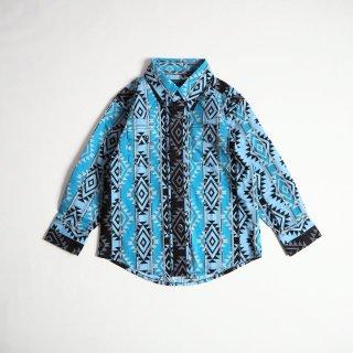 Wrangler KIDS ラングラー キッズ BOY'S CHECOTAH WESTERN  SHIRT #BC1277M 幼児サイズ ウエスタンシャツ / BLUE