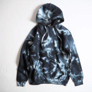 colortone カラートーン tie-dye  ユニセックス タイダイ染め パーカー#8777 PULLOVER HOODED SWEATSHIRT / MULTI BLACK