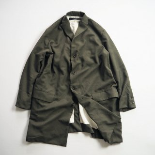 AU GARCONS オーギャルソン オーバーコート PARIS / OLIVE WOOLY POLYESTER<img class='new_mark_img2' src='https://img.shop-pro.jp/img/new/icons13.gif' style='border:none;display:inline;margin:0px;padding:0px;width:auto;' />