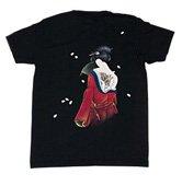 和柄半袖Tシャツ「恋櫻」