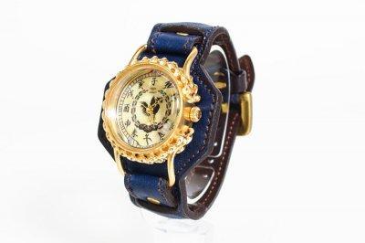 藍染腕時計 鳳凰