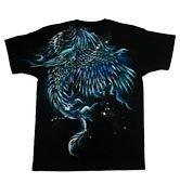 和柄半袖Tシャツ「飛龍」
