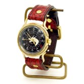 手創り腕時計「赤龍」