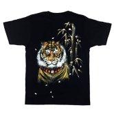 和柄半袖Tシャツ「前田慶次」