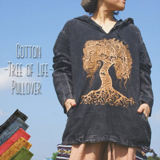 <img class='new_mark_img1' src='https://img.shop-pro.jp/img/new/icons33.gif' style='border:none;display:inline;margin:0px;padding:0px;width:auto;' />-Tree of Life-CottonPullover *3Color