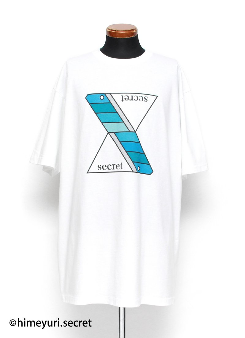 姫百合の秘密(生憎の雨。ver.)-Tシャツ-(WHITE)