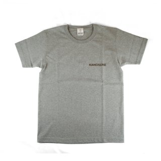 KANOSUKE Tシャツ グレー S - KANOSUKE T-shirts GRAY/small