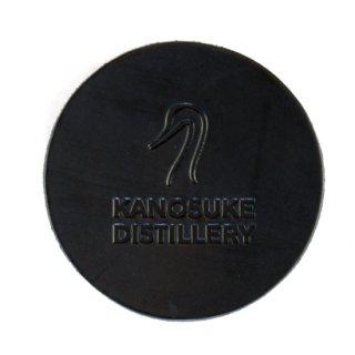KANOSUKE レザーコースター 黒 - KANOSUKE  Coaster [black]