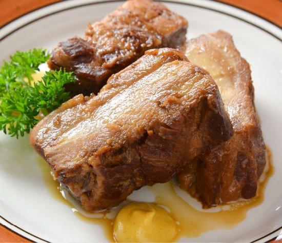 山形のやっこい豚角煮